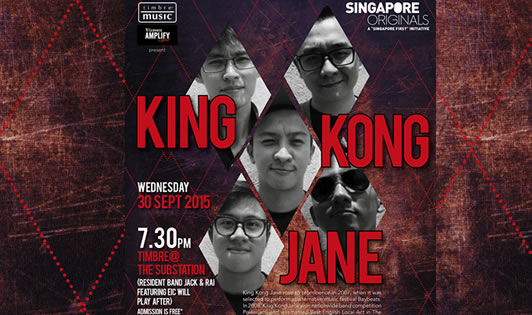 TIMBRE MUSIC & GUINNESS AMPLIFY PRESENT SINGAPORE ORIGINALS: KING KONG JANE
